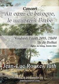 Concert Ile de Bréhat du vendredi 7 août 2015