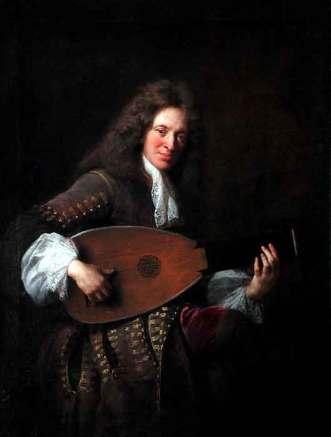 Charles Mouton, portrait par François de Troy 1690. Musée du Louvre